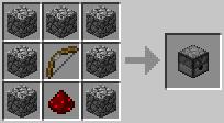 Сундук из камня / Рецепты / Minecraft